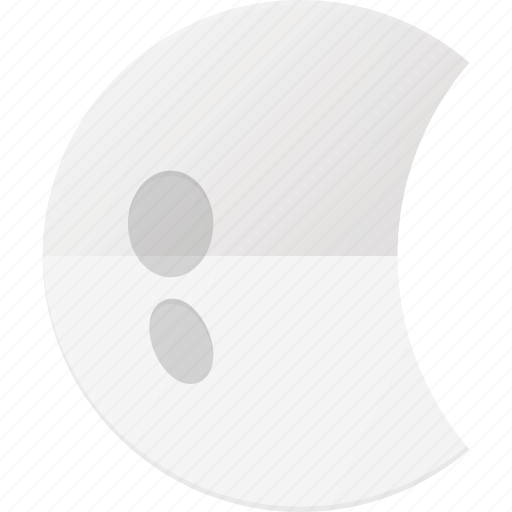 Forcast, half, moon, night, weather icon - Download on Iconfinder