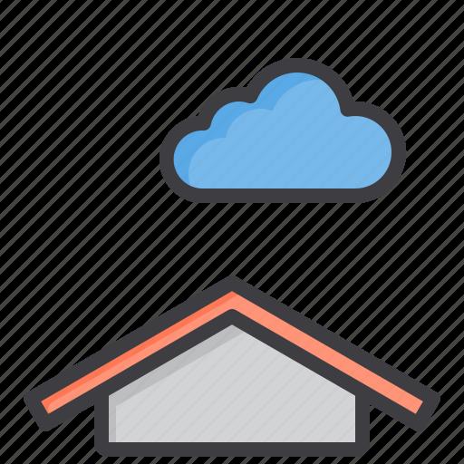 cloud, meteorology, sky, weather icon