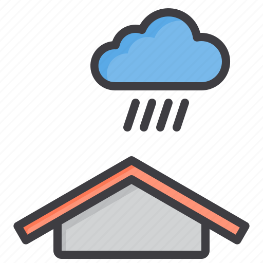 cloud, heavy, meteorology, rain, sky, weather icon