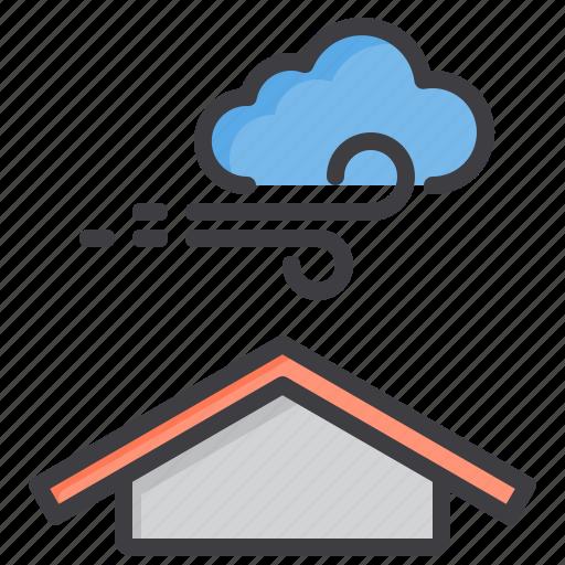 cloud, meteorology, sky, weather, wind icon