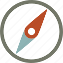 compass, forecast, weather icon