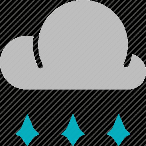 forecast, hailstones, weather icon
