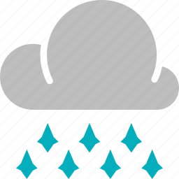 forecast, hailstones, heavy, weather icon