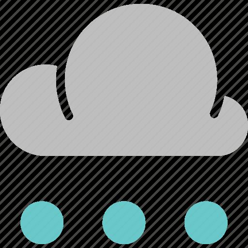 forecast, rain, snow, snowball, weather icon