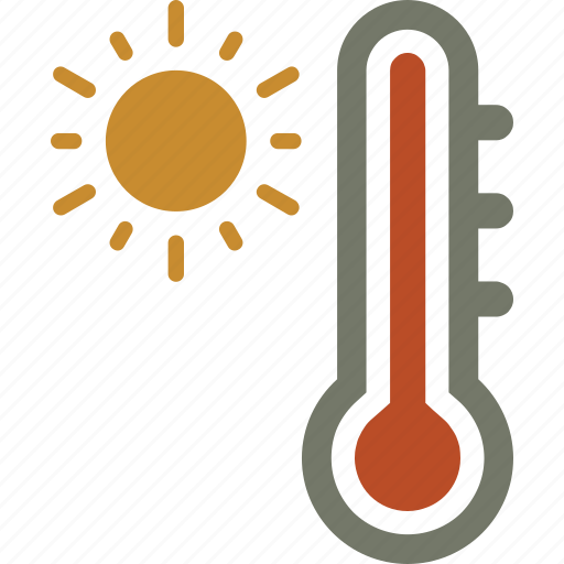 forecast, temperature, weather icon