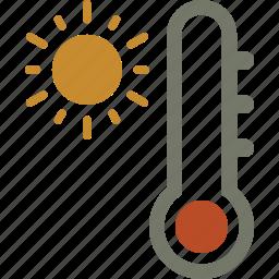 forecast, temperature, weather icon