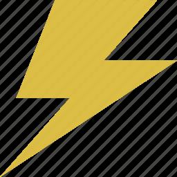 forecast, lightning, thunderbolt, weather icon