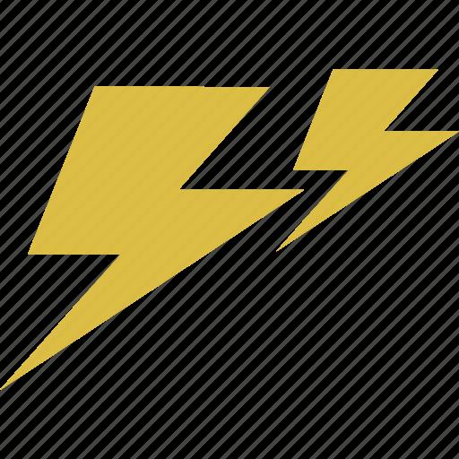 forecast, lightning, thunder, thunderbolt, weather icon