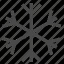 snow, snowing, weather icon
