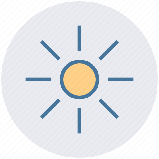 day, hot, sun, sunlight, sunny, weather icon