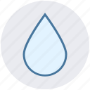 rain, rop, water, water drop, weather icon