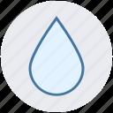 rain, rop, water, water drop, weather icon