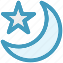 forecast, islam, moon, night, sleep, star, weather