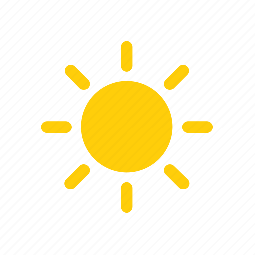 Weather, hot, warm, color, sun icon - Download on Iconfinder