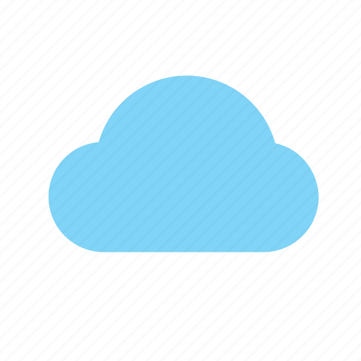 Weather, cloud, color icon - Download on Iconfinder