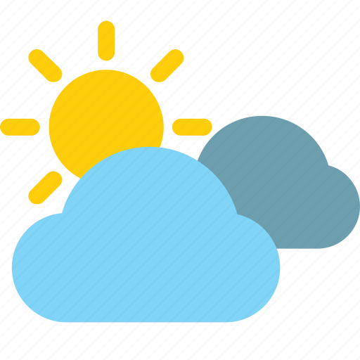 Weather, color, clouds, sun, cloudy icon - Download on Iconfinder