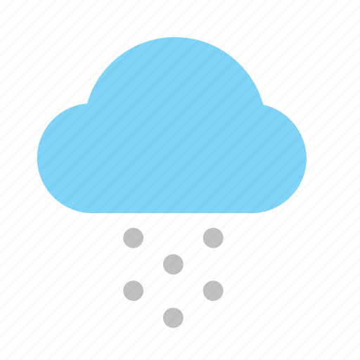 Weather, cloud, color, snow icon - Download on Iconfinder