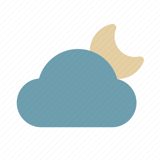 Weather, moon, color icon - Download on Iconfinder