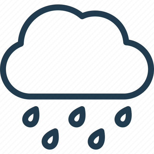 Cloud, forecast, nature, rain, weather icon - Download on Iconfinder