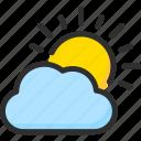 cloud, day, forecast, sky, sun, weather