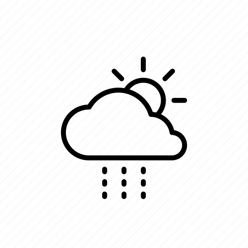 Weather, cloud, cloudy, forecast, rain, sun icon - Download on Iconfinder