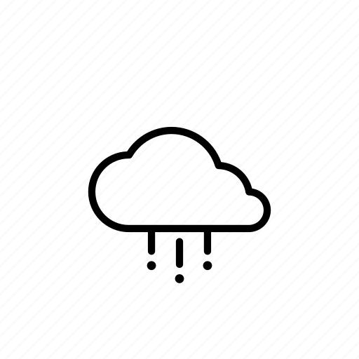 cloud, cloudy, forecast, hail, weather icon