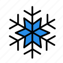 cold, heat, snowflake2 icon