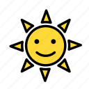 cold, heat, sunhappy