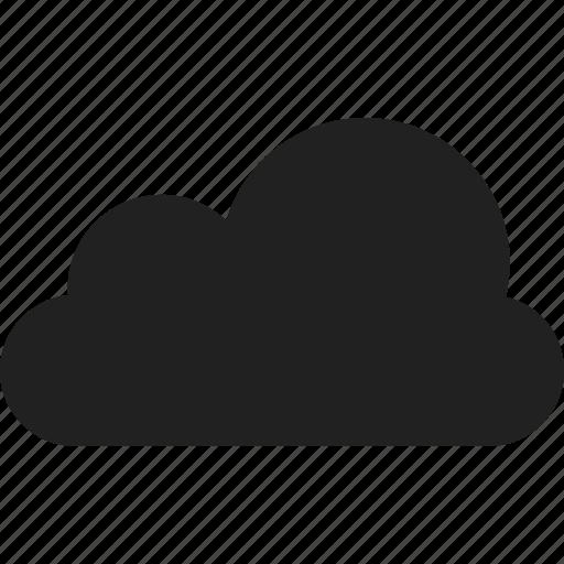 cloud, forecast, puffy cloud, sky cloud icon