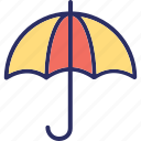 canopy, parasol, sunshade, umbrella icon