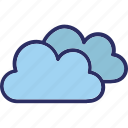 cloud, forecast, sky cloud, weather icon