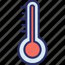 celsius, fahrenheit, temperature, thermometer icon