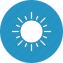 bright day, morning, sun, sunny day icon