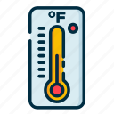 climate, fahrenheit, forecast, meteorology, weather icon