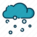 climate, forecast, meteorology, snow, weather icon