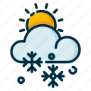 climate, day, forecast, meteorology, snowy, weather