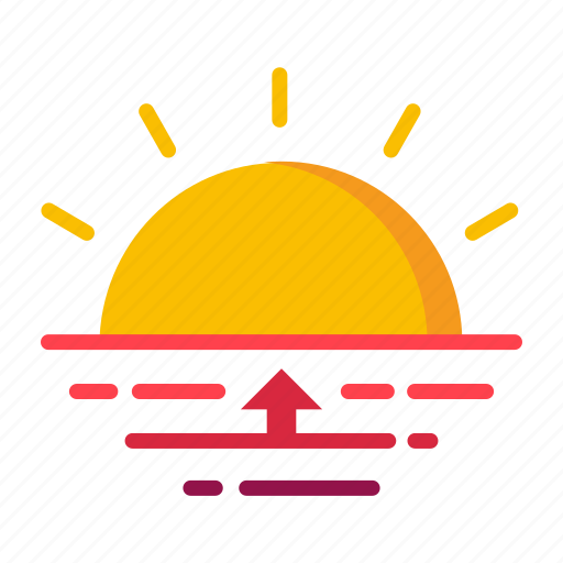 climate, dawn, forecast, meteorology, weather icon