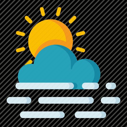 climate, forecast, haze, meteorology, weather icon