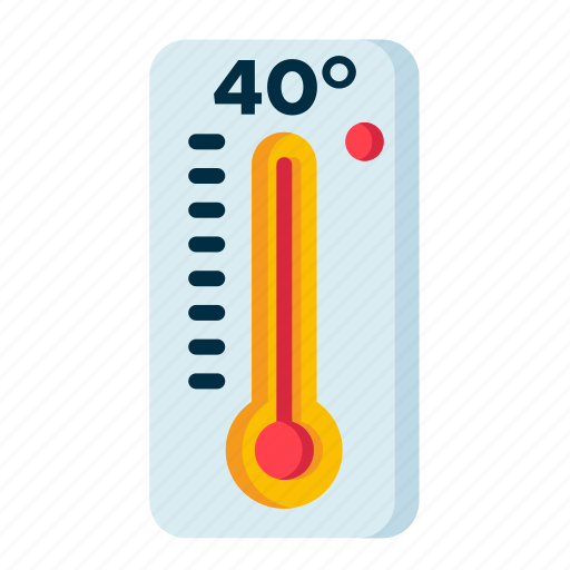 climate, forecast, high, meteorology, temperature, weather icon