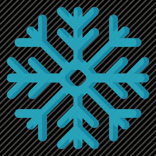 climate, forecast, meteorology, snowflake, weather icon