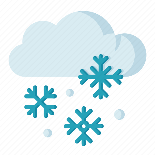 climate, forecast, meteorology, snowy, weather icon
