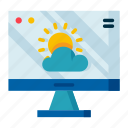climate, forecast, meteorology, site, weather icon