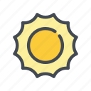day, summer, sun, sunny, weather icon