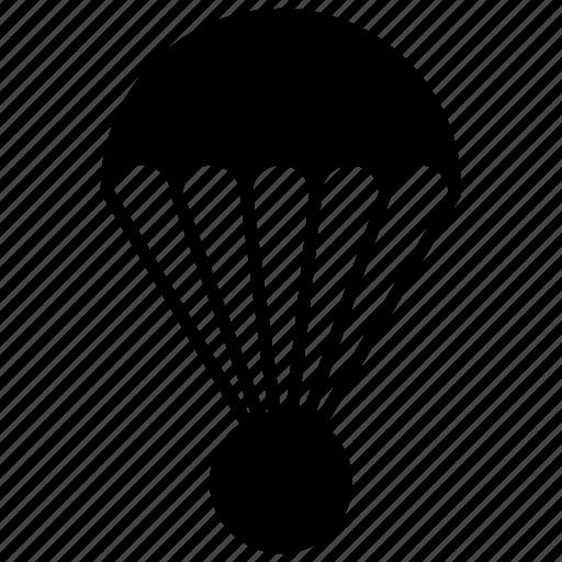 air balloon, barrage balloon, fire balloon, parachute, weather balloon icon