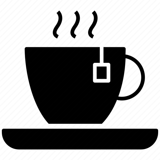 beverage, coffee cup, cup with saucer, hot tea, tea cup icon