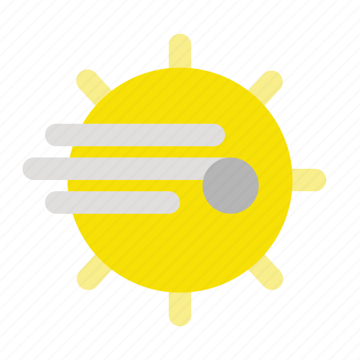 air, apps, sun, weather, wind, wind direction icon