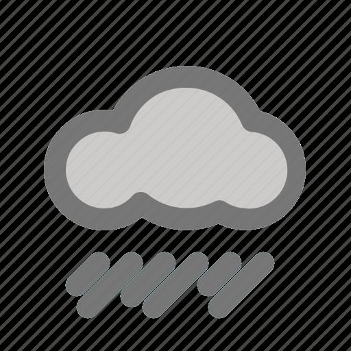 cloud, cloudy, rain, rainfall, weather icon