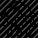 grind, rainy, sharpen, strap, whet icon