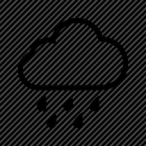 rain, rainy, weather icon