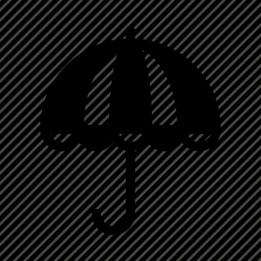 climate, forecast, rain, umbrella, weather icon